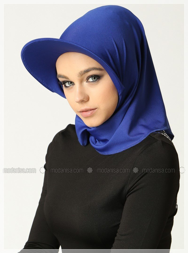 mavi terekli deniz başörtüsü