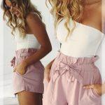 omuz dekolteli asimetrik bluz