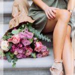 omuz dekolteli yazlık elbise modeli