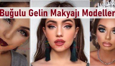 Buğulu Gelin Makyajı Modelleri