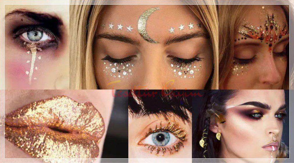 Glitter Makyaj Çeşitleri