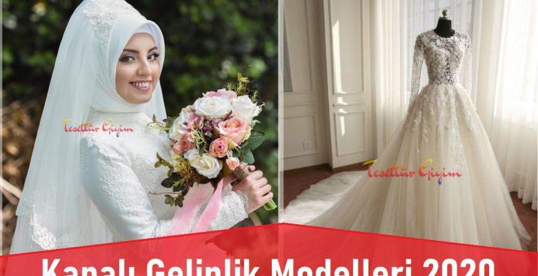 Kapalı Gelinlik Modelleri