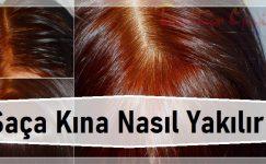 Saça Kına Nasıl Yakılır