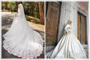 Yaza Özel Birbirinden Şahane Prenses Model Gelinlikler ana