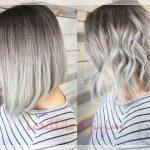 düz ve dalgalı saça ombre