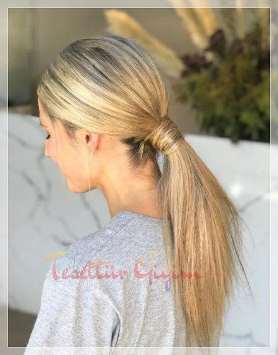 farklı At Kuyruğu Saç Modelleri