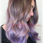 hafif dalgalı saça ombre