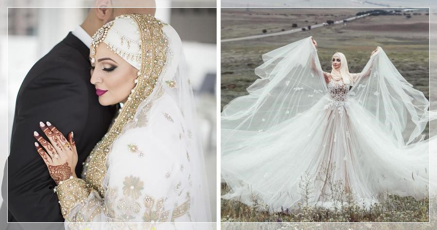 hijab princess wedding dress 2020