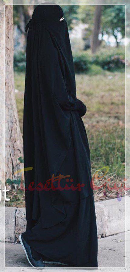 siyah cilbab