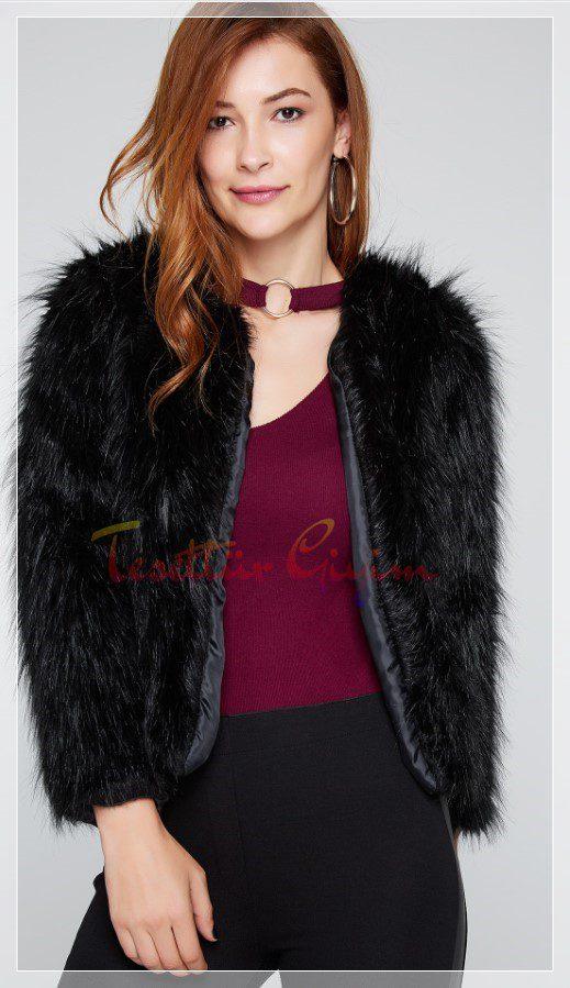 türylü kürklü ceket