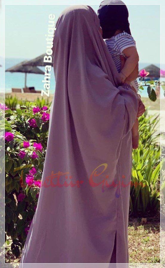 yazlık cilbab modelleri