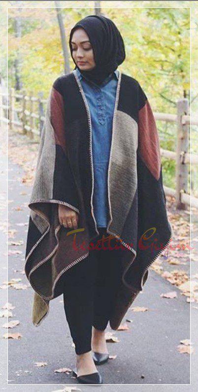 Kışlık Tesettür Giyim Önerileri