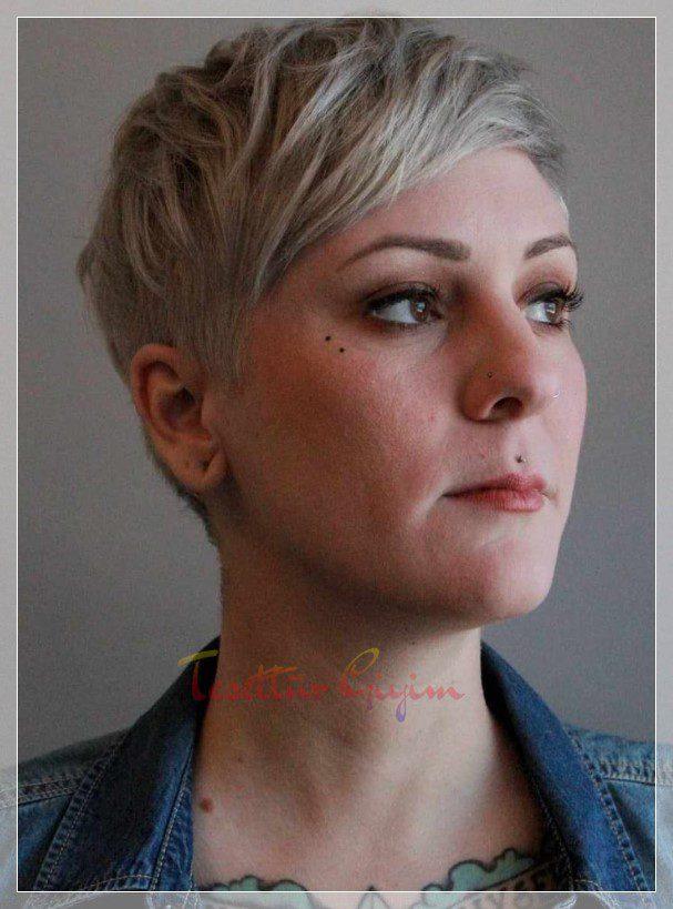 kısa marjinal saç kesimi modeli