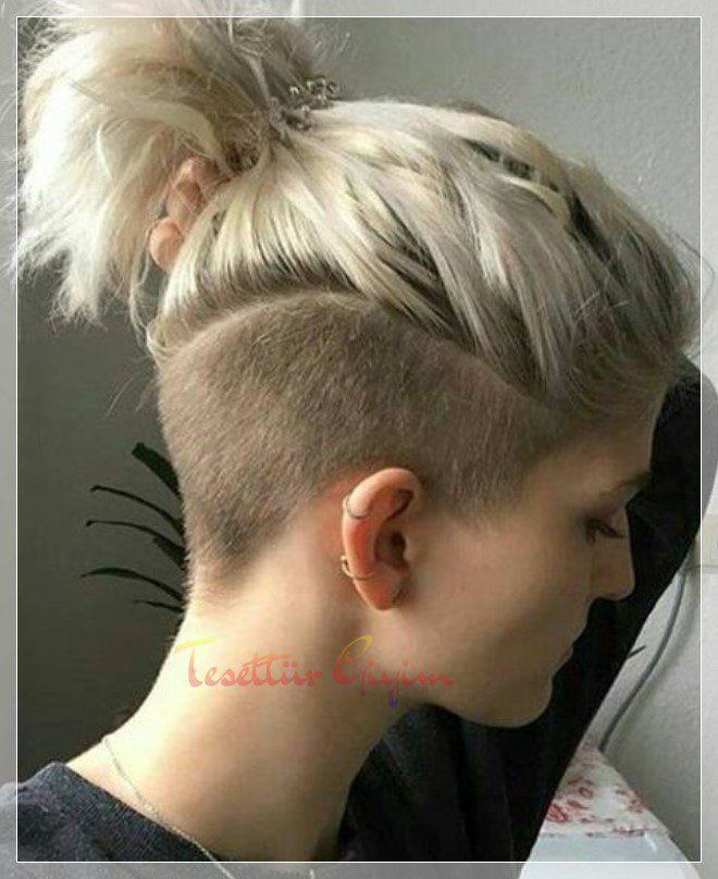 marjinal saçlar sarı