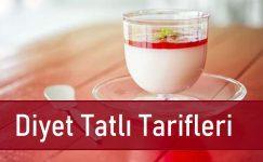 Diyet Tatlı Tarifleri | 3 Farklı Kalori Dostu Tarif