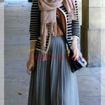 Young Hijab Skirt and Vest Combination