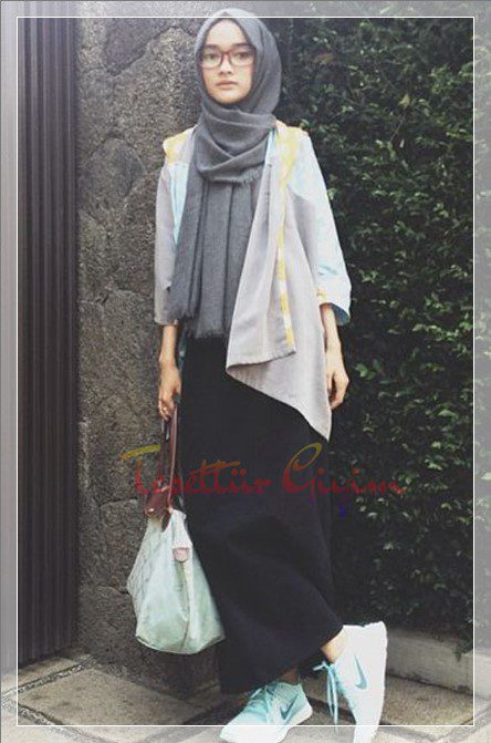 Young Hijab skirt Combin