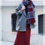 hijab winter style