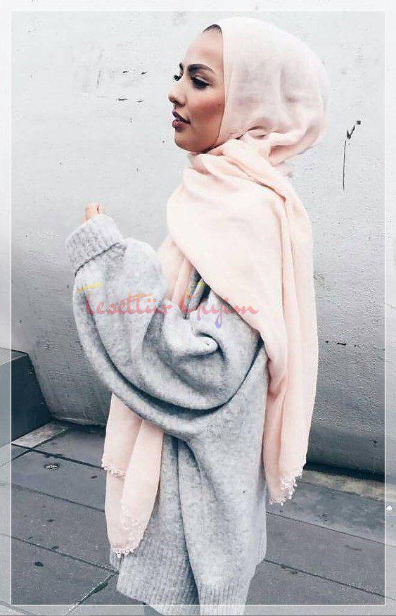 kışlık tesettür giyim modelleri