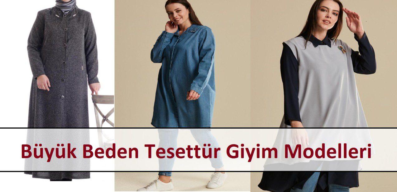 Büyük Beden Tesettür Giyim Modelleri
