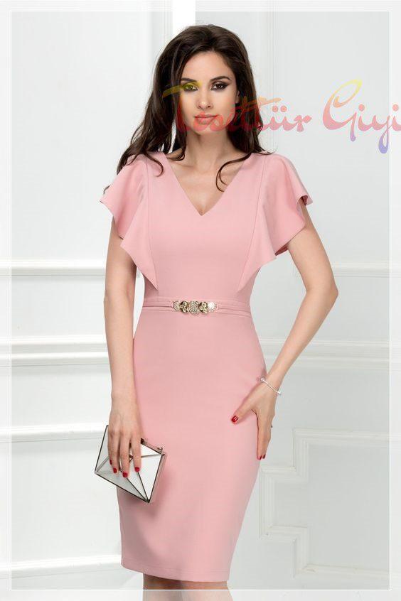 Peplum Elbise Modeli 2019