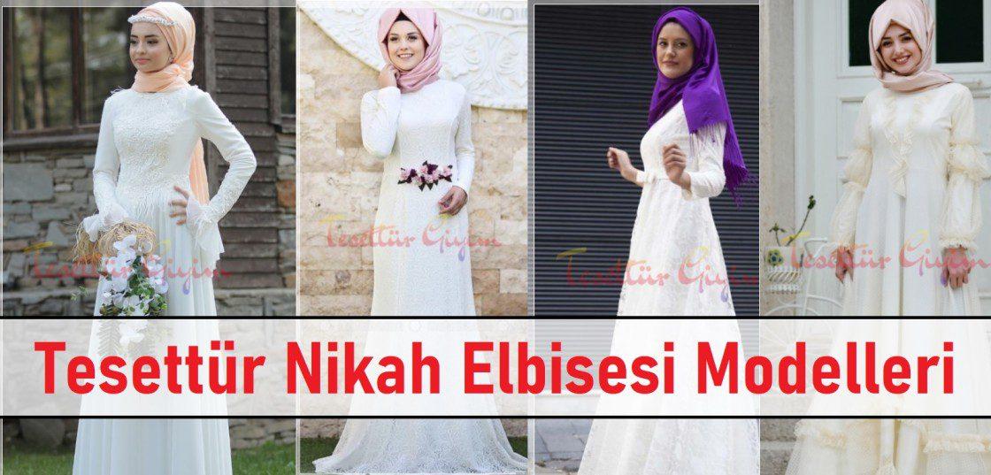 Tesettür Nikah Elbisesi Modelleri ana