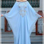 Yarasa Model Tesettür Nikah Elbisesi