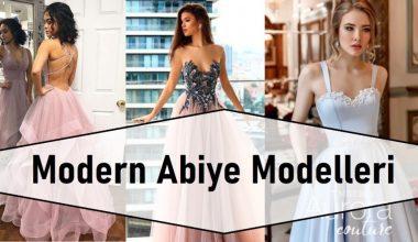 Modern Abiye Modelleri