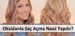 Oksidasyon Kremi ile Saç Rengi Nasıl Açılır