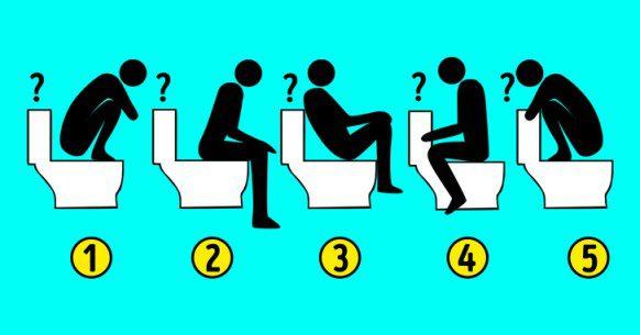 Klozet için Doğru Oturma Pozisyonu