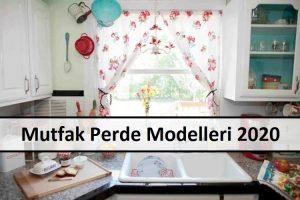 Mutfak Perde Modelleri