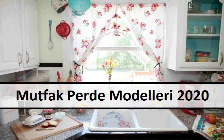 Mutfak Perde Modelleri 2020