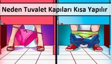 Neden Tuvalet Kapıları Kısa Yapılır