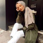 Ebrar Eslem Ercan beyaz pantolon kombini