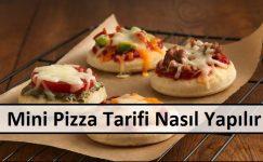 Mini Pizza Tarifi Nasıl Yapılır