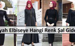 Siyah Elbiseye Hangi Renk Şal Gider
