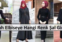 Siyah Elbiseye Hangi Renk Şal Gidera