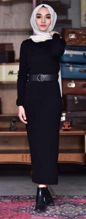 Siyah Elbiseye Hangi Renk Şal ile gider