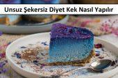 Unsuz Şekersiz Diyet Kek Nasıl Yapılır