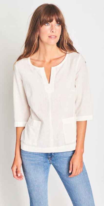 geniş omuzlu kadınlar için bluz önerisi