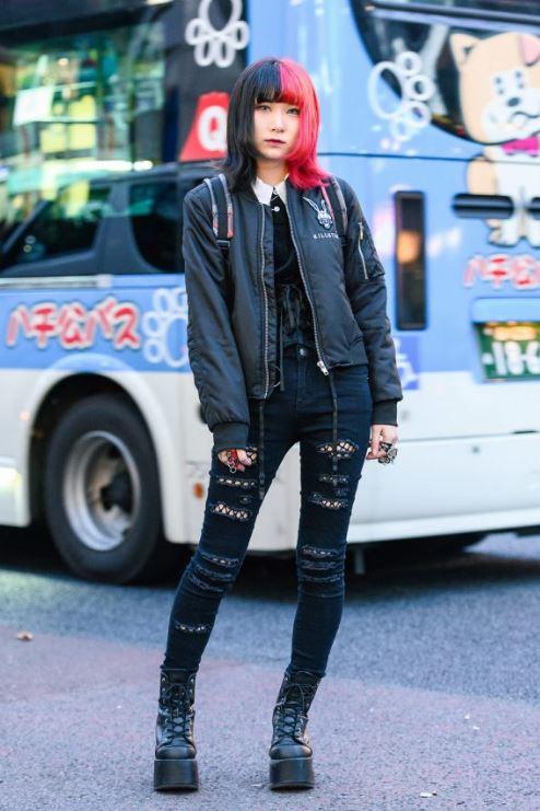 Collage Girl Harajuku