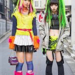 Cosplay Harajuku kızlar