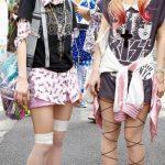 Harajuku okul kızı modası