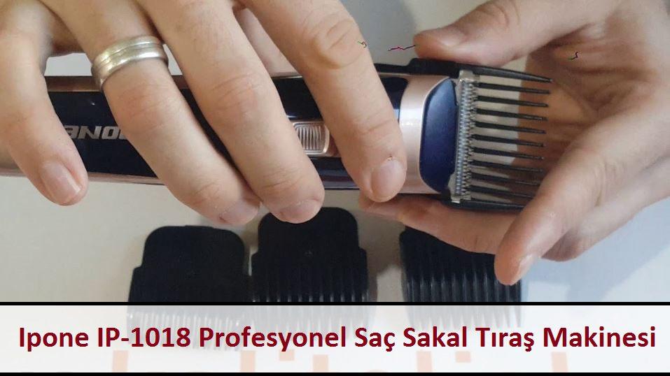 Ipone IP-1018 Profesyonel Saç Sakal Tıraş Makinesi