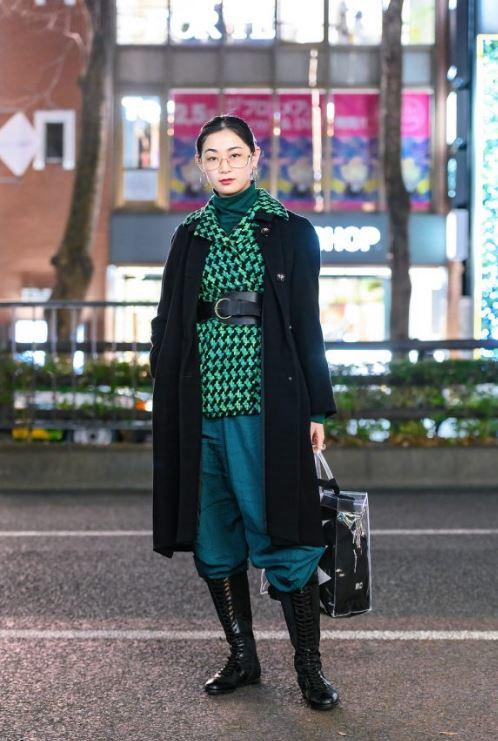 Kışlık Harajuku Kombini