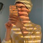 Kuaybe Gider Vintage Sarı Elbise