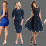 Lacivert Elbise ile hangi renk ayakkabı yakışır