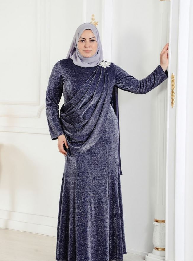 Plus Size hijab dress
