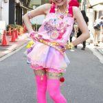 Renkli Harajuku Kızı