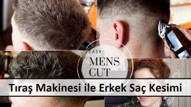 Tıraş Makinesi ile Erkek Saç Kesimi